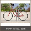 (BR-003) ISO9001 Certificate Cast Aluminum Outdoor Metal Bicycle Stand