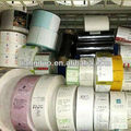 personalizada tejido etiqueta de tamaño