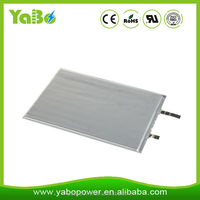 UL certificate 3.7V 103040 1200mAh lithium polymer battery for wearable devices