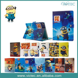 New products minion despicable me 2 case for IPAD MINI 1/2