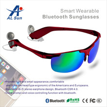 Earphone Sport New Design Color Polarized Lens Sunglasses With Bluetooth