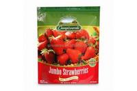 plastic jumbo strawberries packaging doypack