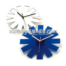 fashion wall mounted acrylic wall clock