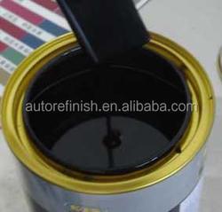 1L - 4L 1K Basecoat with silver paint soild paint tiner top coat for automotive