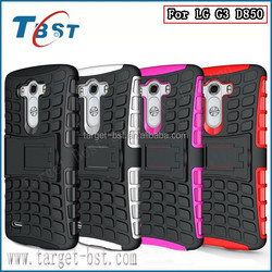 2015 New products phone case for LG G3 D850, Popular Dual armor stand case for LG G3 D850