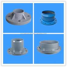 ISO 9001/GB PVC/UPVC flexible exhaust Pipe with Flange ,Lwnrf Flange with Good Price