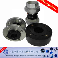Hot seller Threaded Union Rubber Joint price on alibaba