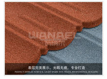 50 years warranty Wanael stone coated roofing tiles/steel roofing shingles/roof insulation sheets