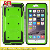 New Arrival !3 In 1 Tpu +pc Material Heavey Duty Defender Mobile Phone Case For Iphone 6