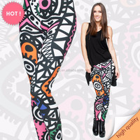 10pcs selling New arrival factory wholesale digital print modern fashion seamless legging