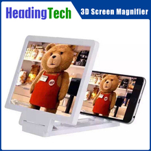 Mobile Phone Screen Amplifier 3D Enlarged Screen Mobile Phone Folding HD Amplifier Bracket Stand for Smartphone