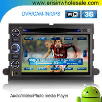 """Erisin ES9302A 7"""" HD Android 4.4.4 2 Din Car DVD GPS for Mustang 2008"""