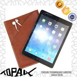 high quality genuine leather case for ipad mini