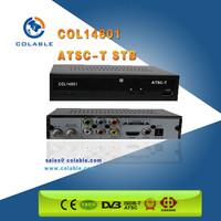 Hot FTA ATSC TV Converter Box Digital To Analog set top box