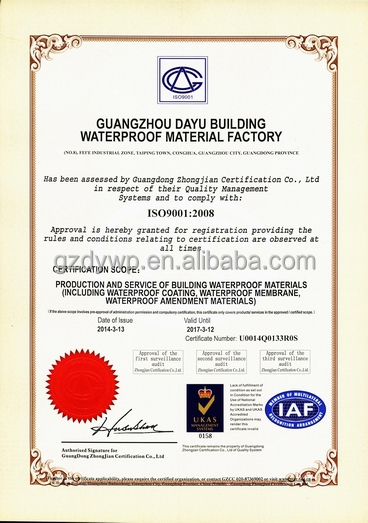 Self-adhesive Bitumen Waterprooing Sheet