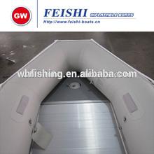 rápida velocidad de dos pilotos de pvc inflable pontones botes de pedal botes de remo de china