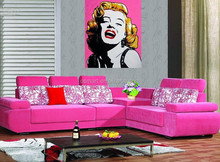 Fashionable Design Marilyn Monroe Wall Picture, Wall Oil Painting for Living Room Decoration