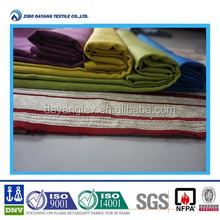 Inherently flame retardant fabric for bed cover set