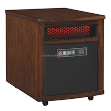 CSA and CE approved lowes' 4,600-btu infrared compact personal electric space heater with thermostat