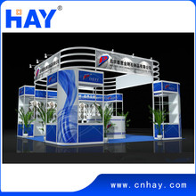 Finely processed Elegant looking Rational construction Modular exhibition booth