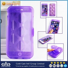 [NP-2148] Convenient Phone Call Answering Transparent Touch Flip Cover for Apple for iPhone 6