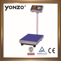 YZ-804 100kg to 500kg electronic digital platform weighing scale marco platform scale