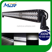 2014 China Manufacture Cree Led Light Bulb Bar High Indensity 300W Diecast Aluminum Housing LED Light Bar Auto Part for Off Road