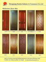 High-quality pvc/melamine coated or wooden veneer coated mdf wooden interior door wooden solid interior door 2100*860*40mm