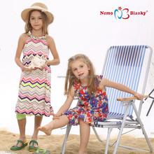 new model breathable custom dyed 2 year old baby summer girl 100% cotton children flower girl dress