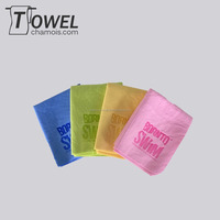 Detailing outdoor fitness pva sports chamois leather