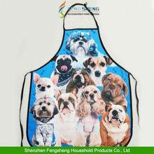 DOGS Apron Kitchen Novelty Apron dog lovers