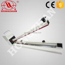 Hongzhan HI450/600/750/900/1000 extra long sealing line hand press impulse impulse bag foil sealing machine/sealer