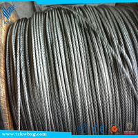 high tension galvanized/stainless steel wire rope