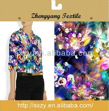 High quality printing cheap silk fabric importers