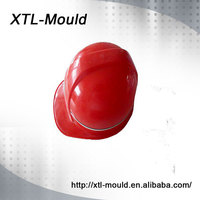 High quality custom safety plastic helmet with ISO standard