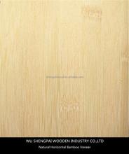 china hot sale horizontal bamboo wood veneer for decorative wall longboard skateboards laminated face skins sheets