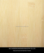 china hot sale natural horizontal bamboo wood veneer for decorative wall longboard skateboards laminated face skins sheets