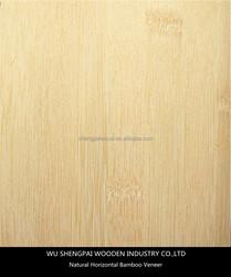 china hot sale natural horizontal bamboo wood veneer for decorative wall longboard skateboards laminated face skins sheets