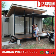 Daquan brand Comfortable Family Living High Quality Prefab Container House for sale