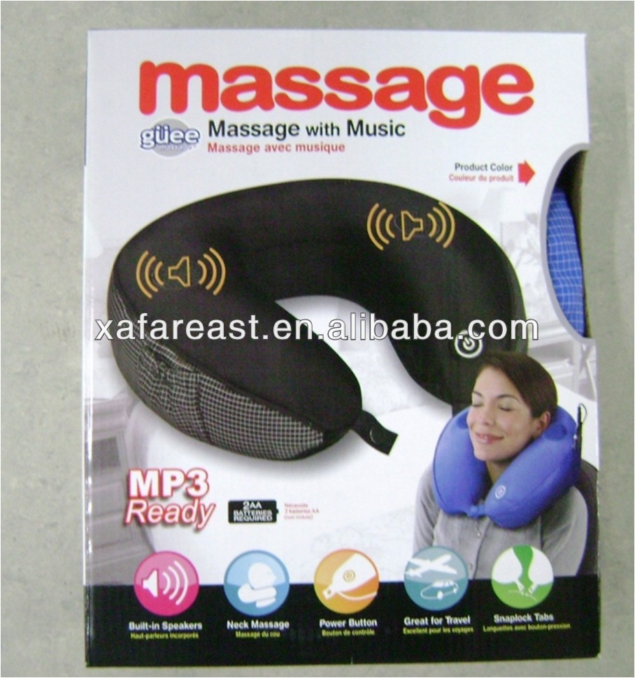 2014 New Neck Massager with MP3 Speaker