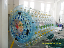 Various Color PVC & TPU Inflatable Rolling water walking / Inflatable Water Roller Used in the lake for /inflatable water roller