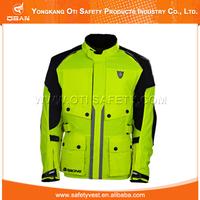 Reflective windproof motorcycle air bag jacket