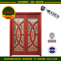 fiber glass interior wood door