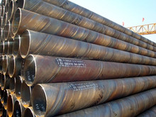 SSAW Spiral welded steel pipe for gas/fluid/oil /steel pipe made in China