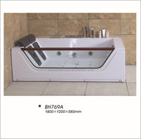 2015 new design indoor portable massage bathtub