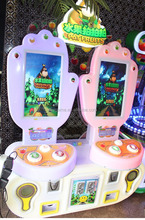 2 players coin operated paipaile game machine for sale/Coin pusher pat fruit video game machine