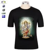 OEM men cotton t shirt hindu god designs t-shirts krishna prints