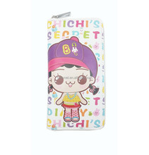 New Model Lady Wallet/Fashion Wholesale Cartoon Printing Woman Wallet/Festival gift