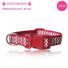Dongguan Low Price wholesale Chevron Pet Dog Collar , OEM