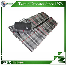 High quality Waterproof traveling camping rug, Acrylic portable picnic blanket wholesale as promotional gifts